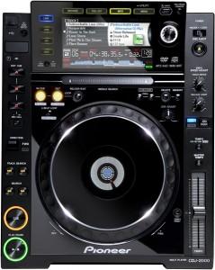 Zuspieler Pioneer cdj2000